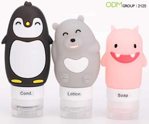Gain Brand Exposure with Cartoon Shaped Custom Travel Bottles