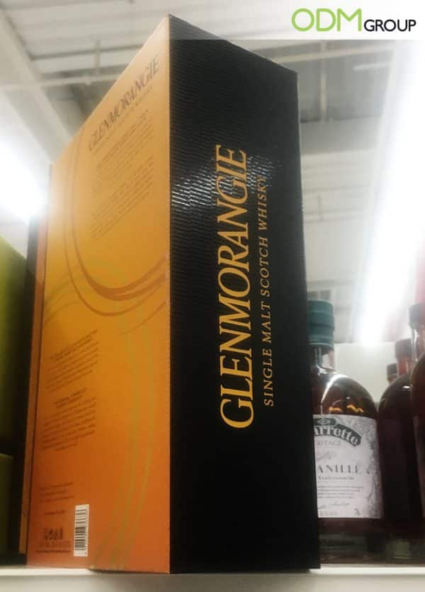 On-Pack Whisky Glass Gift from Glenmorangie: A Quality Promo Idea