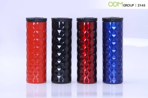 Promotional coffee tumbler