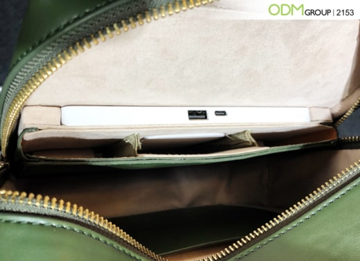 Fashion meets Function: Wireless custom charging bag