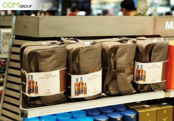 Glenfiddich Gains Brand Exposure with Custom Promotional Bag
