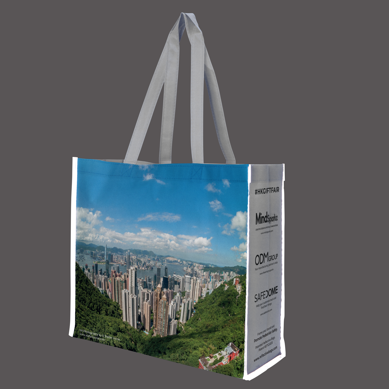 ODM's Patented Reflective Shopping Bags: The Manufacturing Process