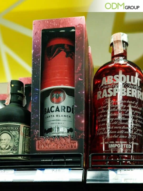 On - Pack Giveaway from Bacardi: Custom Drinking Cup