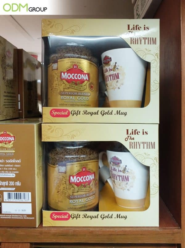 On Pack Promotion from Moccona - A Custom Coffee Mug
