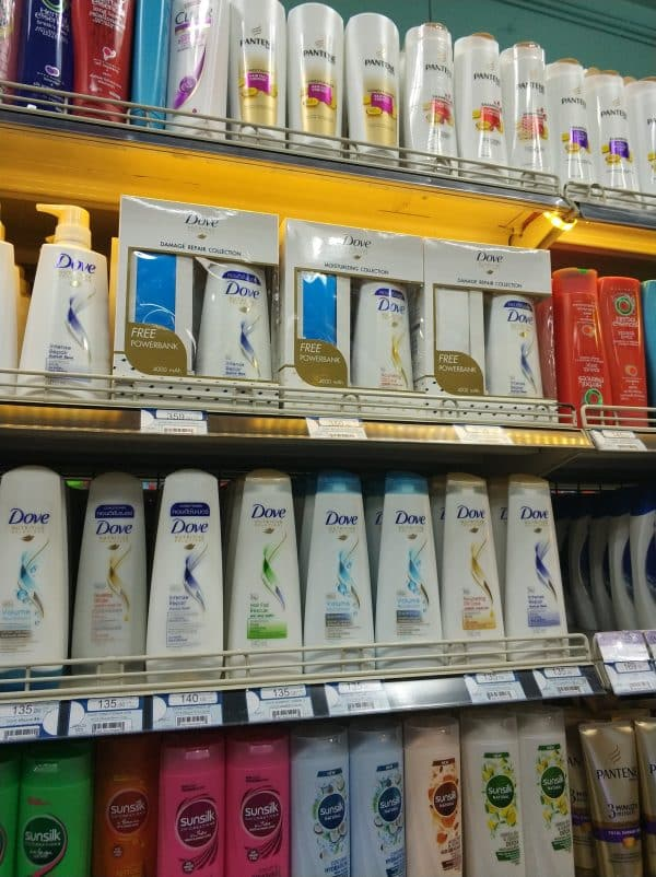 Promotional Power Bank Gives Dove Shampoo a Marketing Edge
