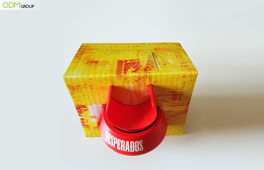 Cool Drinks Promotional Items: Desperados Spin the Bottle Giveaways