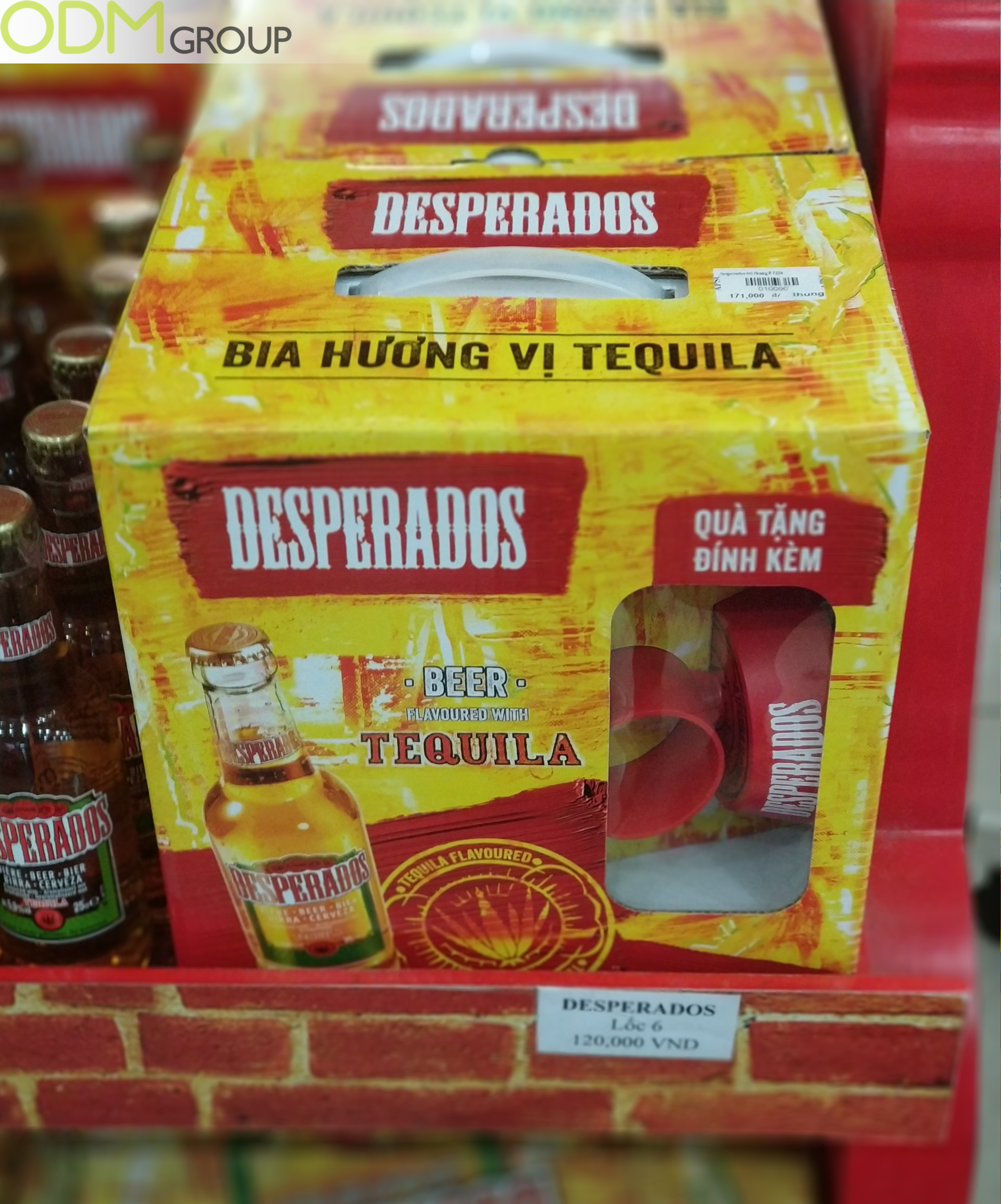 Cool Promotional Drinks Products- Desperados Spin the Bottle Giveaways