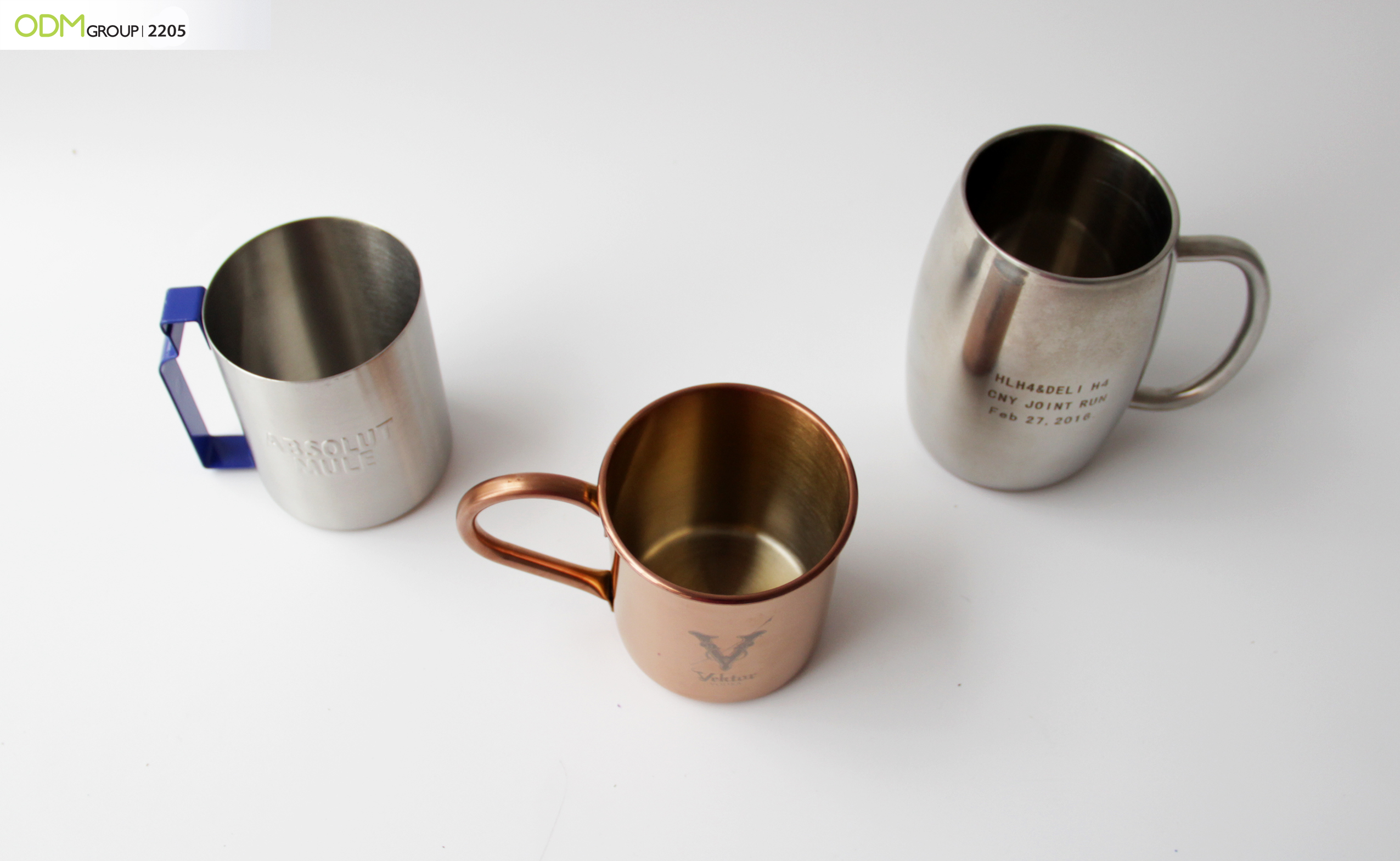 Trendy Customized Drinkware: Rum Cups