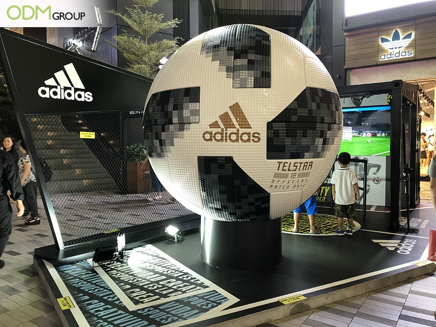 Custom In Store Display: Football Promotion by Adidas