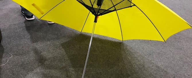 Creative Promotional Fan Umbrella - Trendy Custom Product