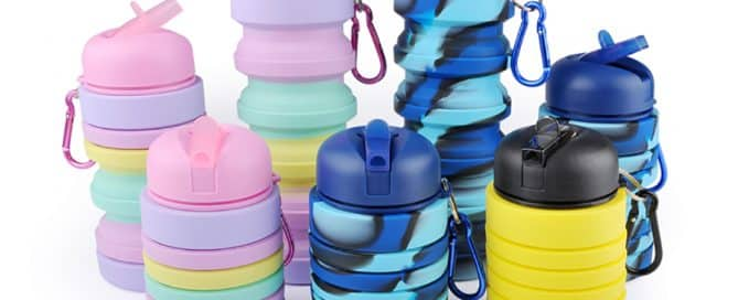 Get Noticed with Promotional Sports Bottles with Foldable Body