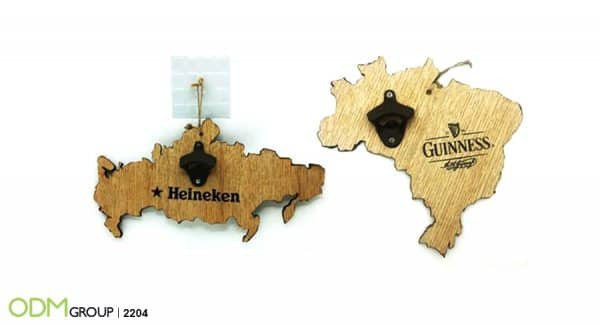 Wall Mount Branded Bottle Openers- Impressive Designs that Turn Heads