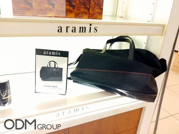 Brand Promotion: Custom Giveaways by Aramis UK