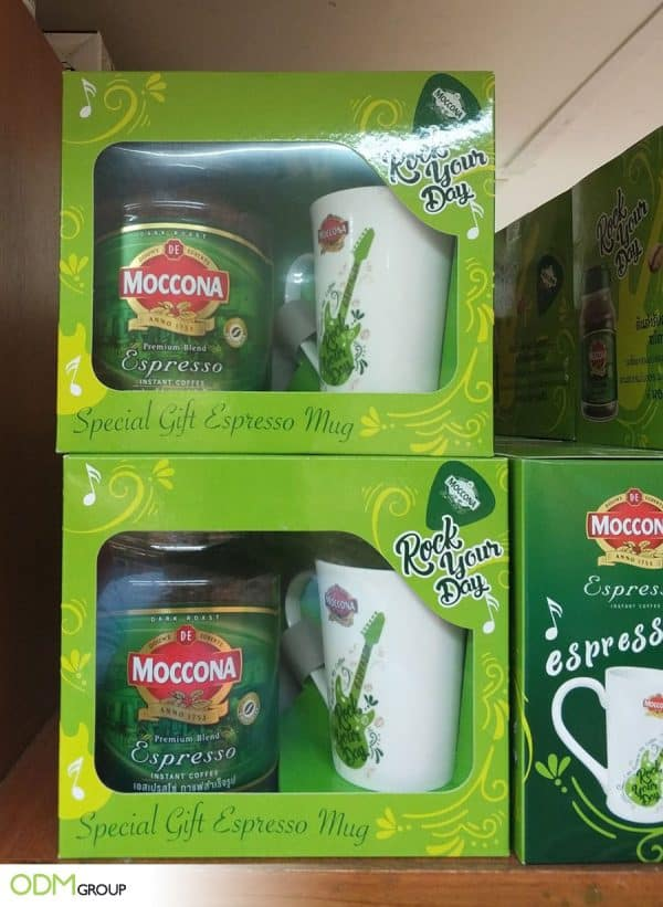 GWP Mug - with On-pack Promotion Idea by Moccona