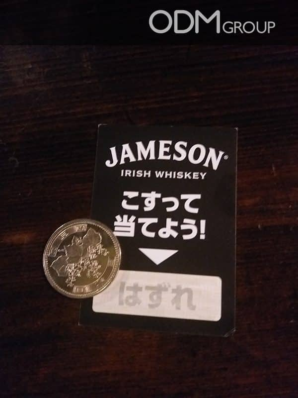 How Jameson Whiskey Scores Big Marketing Points with Brilliant Scratch off Game