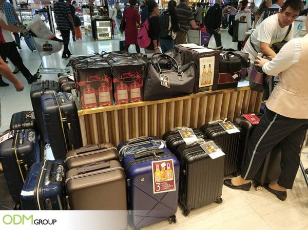Custom Luggage Bags- Ideal Gift With Purchase for Drinks Promos