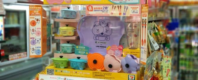 Look! LINE Captured HK Market with Awesome App Merchandise Design-