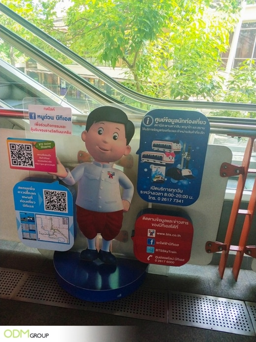 Remarkable Outdoor Displays in Thailand - Keeping People Informed