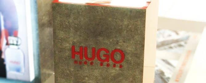 Bold Perfume POS Display for Hugo Boss Advertising Campaign.