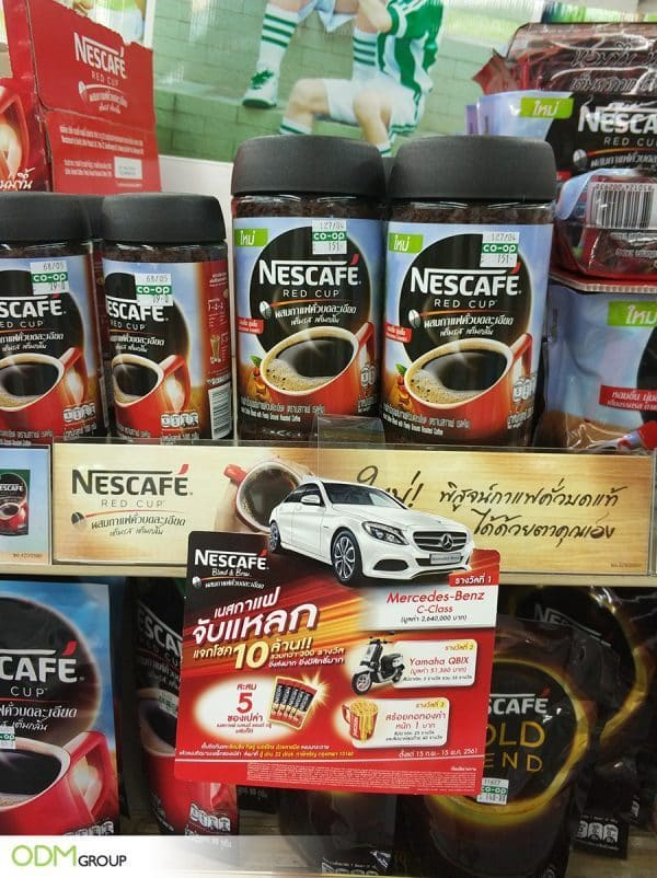 Contest Giveaways Exciting Marketing Campaign by Nescafe