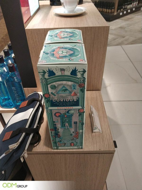 Bespoke Customized Gin Packaging by Hendricks