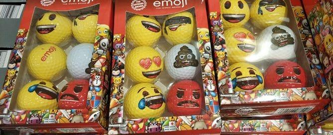 Customized Golf Balls: Pairing Emojis and Sport