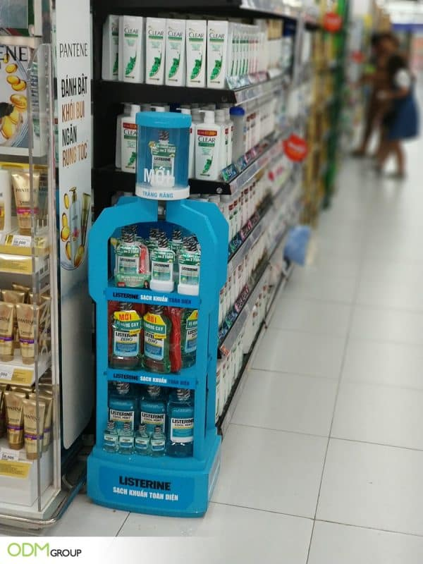 Customized POP Display: In-Store Marketing Innovation by Listerine