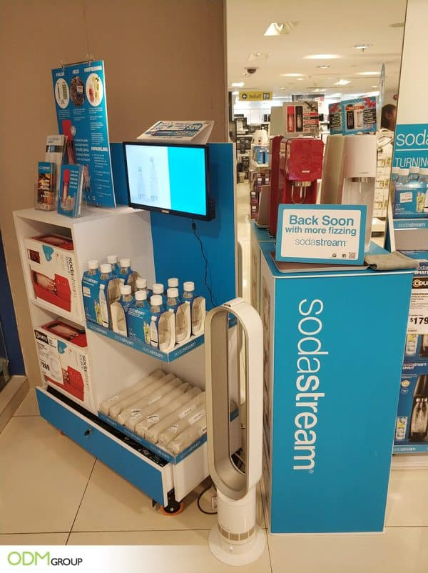 POS Display Idea from Soda Stream: Paring Innovation and Success