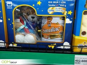 Promotional Stuffed Toy Included with Similac Products