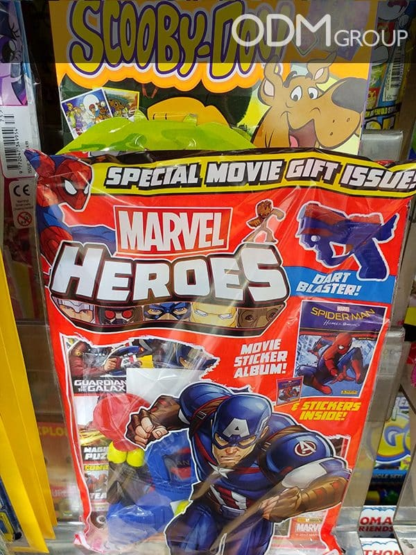 Covermount Promo Gifts for Kids: In Pack Movie and TV Merchandise