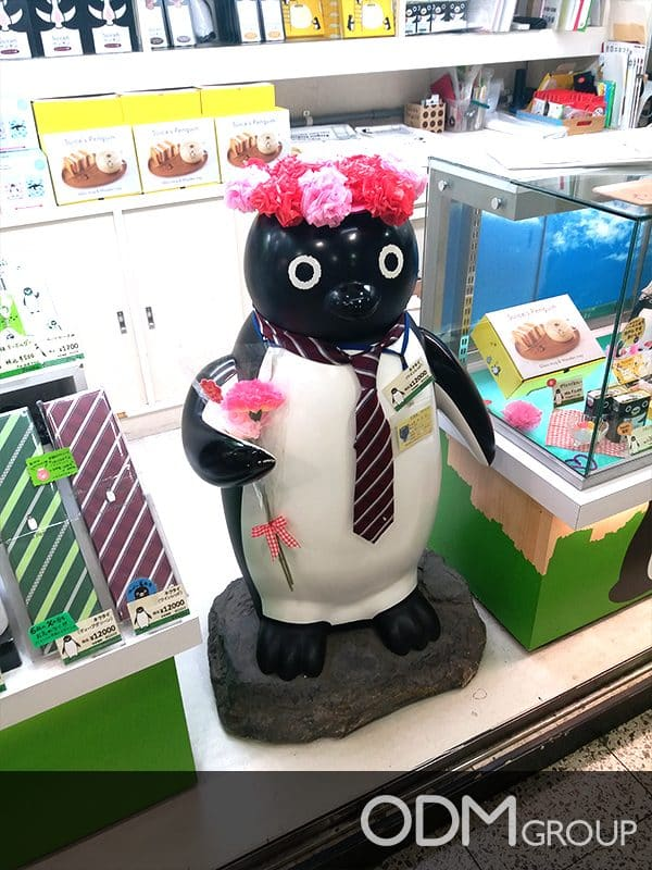 Suica Custom Retail Merchandise in Tokyo Gets Massive Attention