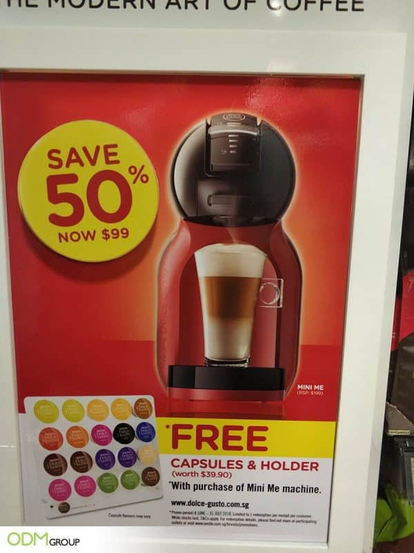 Exciting Promotional Coffee Gift for Nescafe Customers