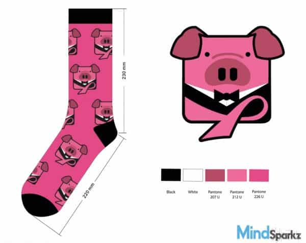 Chinese New Year Pig Socks Manufacturing Process