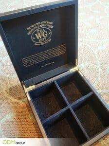 Bespoke Custom Tea Box by TWG