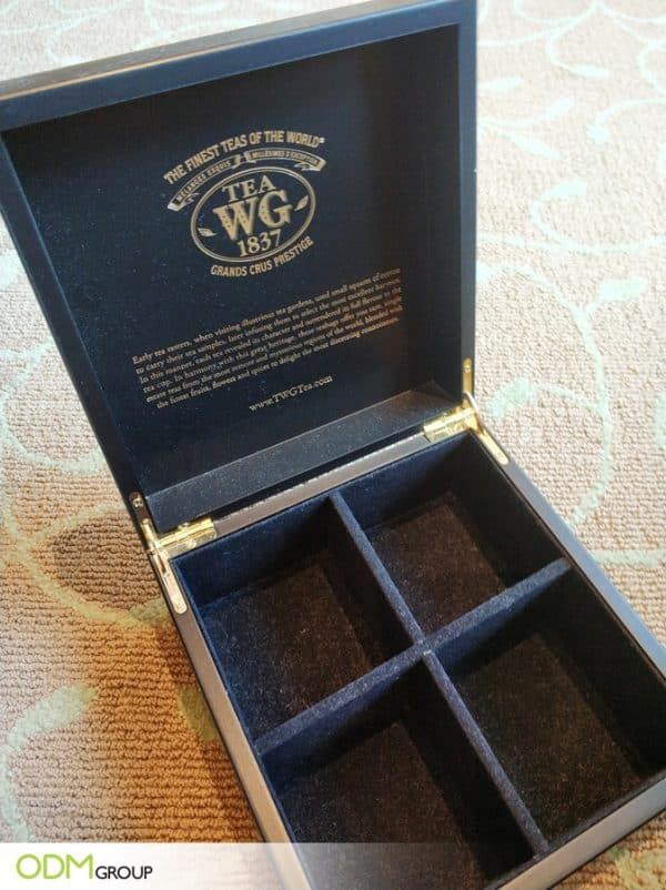 Bespoke Custom Tea Box by TWG
