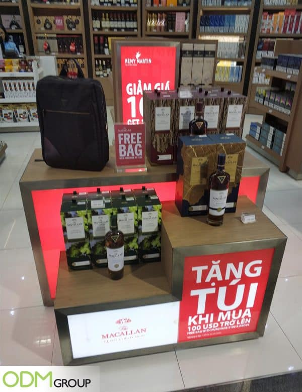 Complimentary Gift Bag As A Marketing Strategy To Lure Sales
