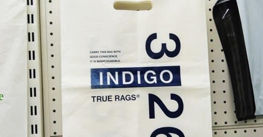 Corn starch packaging - Plastic bag