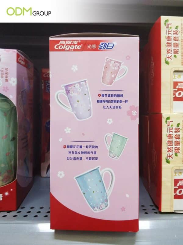 Colgate Gets Customers Smiling with Custom Ceramic Mug