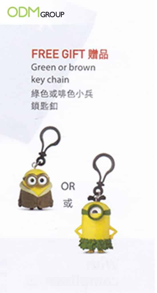 Minion Custom Keychain Design Scores Big in Duty Free