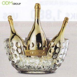 Golden Ice Bucket Design Wows Bottega Customers