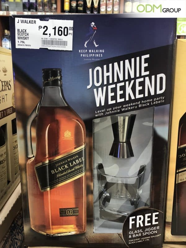 Johnnie Walker Rewards Their Customers With Drinks Gift Set