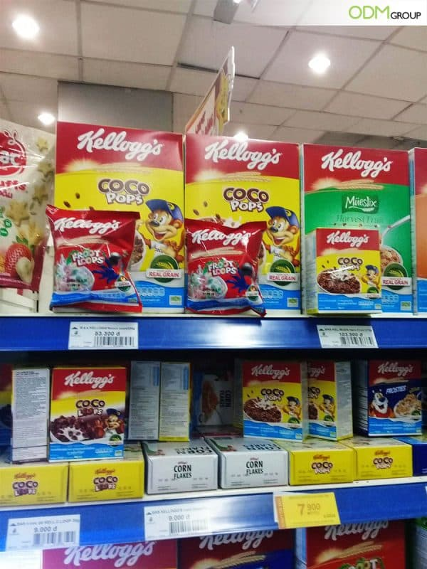 Good On-Pack Marketing by Kellogg's - Why It Attracts Shoppers