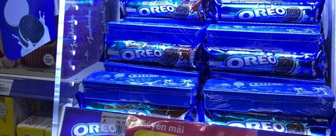 Oreos Outshines Competitors With LED In-Store Display