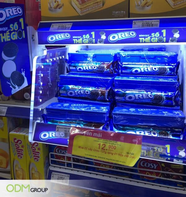Oreos Outshines Competitors With LED POP Display