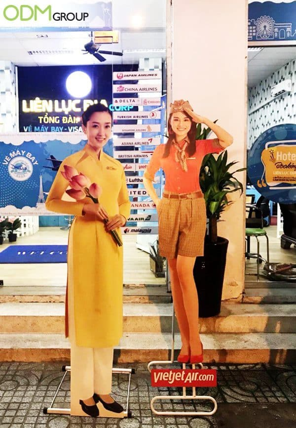 Promotional Display Standee What We Learned From VietJet