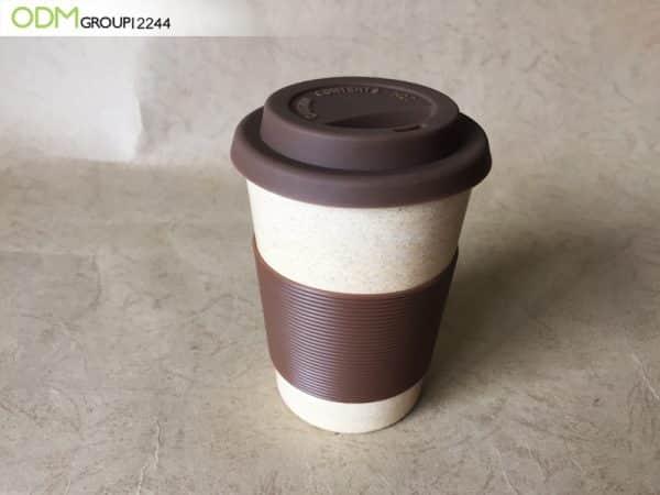 Rice Husk Coffee Cup