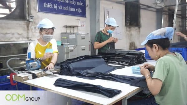 Travel Kit Bag Manufacturing Process - Vietnam Factory Visit