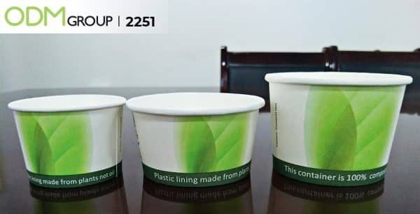Compostable Paper Packaging Soup Bowl