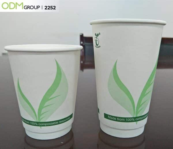 Compostable Paper Packaging Cup