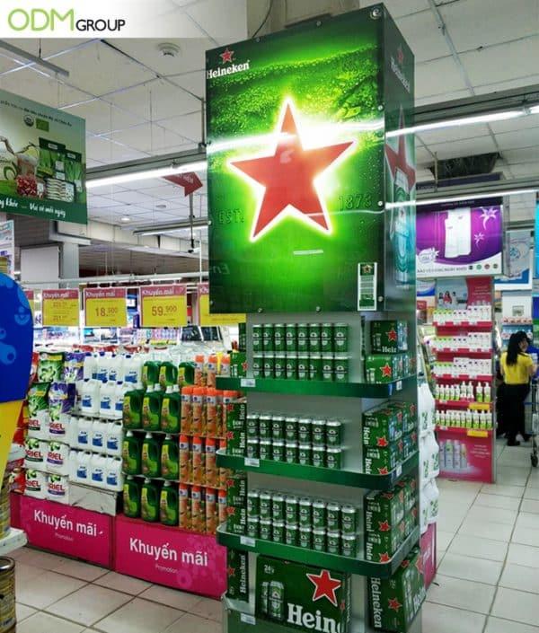 Branded Retail Display